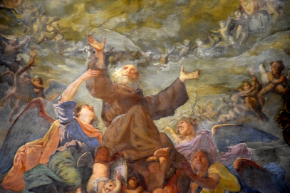 15 Fresque dans une église de Turin