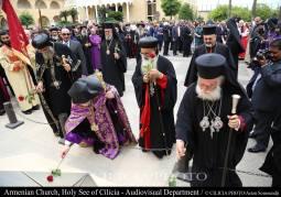 22-Hommages aux saints martyrs arméniens du génocide de 1915