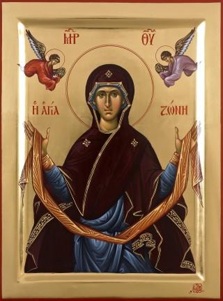 Programme du XVème dimanche après la Pentecôte - Déposition de la précieuse Ceinture de la Mère de Dieu - ton 6