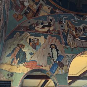 Chevetogne - la Nativité du Seigneur et la résurrection de Lazare
