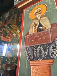Chevetogne - saint Syméon Stylite sur sa colonne