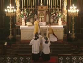 04-Epiphanie 2016 - Bénédiction du diacre devant chanter l'évangile