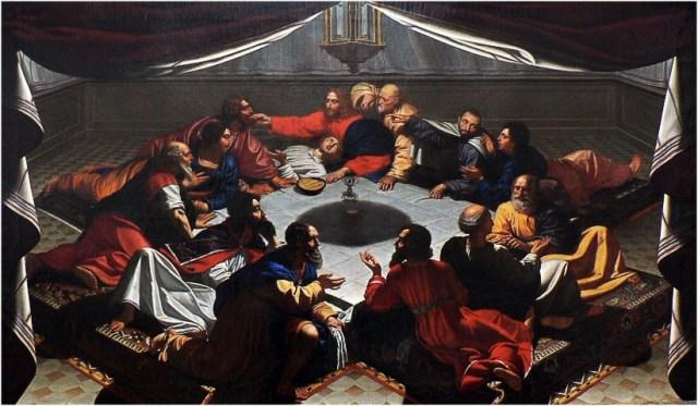 La Cène - anonyme français du XVIIème siècle - Musée des Beaux Arts de Nantes