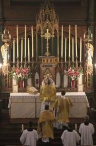 Messe de la Fête-Dieu - Elévation du Corps du Seigneur