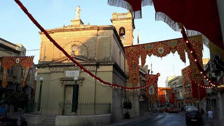 L'église Saint-Paul de Birkirkara, Ile de Malte, siège de la communauté traditionnelle de l'île.