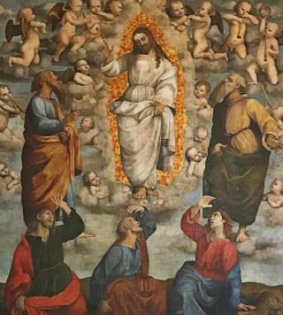 Transfiguration du Seigneur par Girolamo Genga, c. 1511