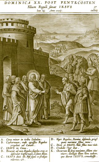 Programme du XXème dimanche après la Pentecôte