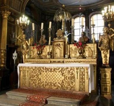 Autel de la Chapelle