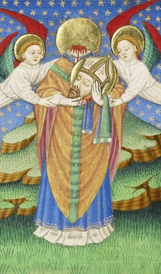 Programme de la solennité de saint Denys, premier évêque de Paris, & ses compagnons Rustique, prêtre, & Eleuthère, diacre, martyrs