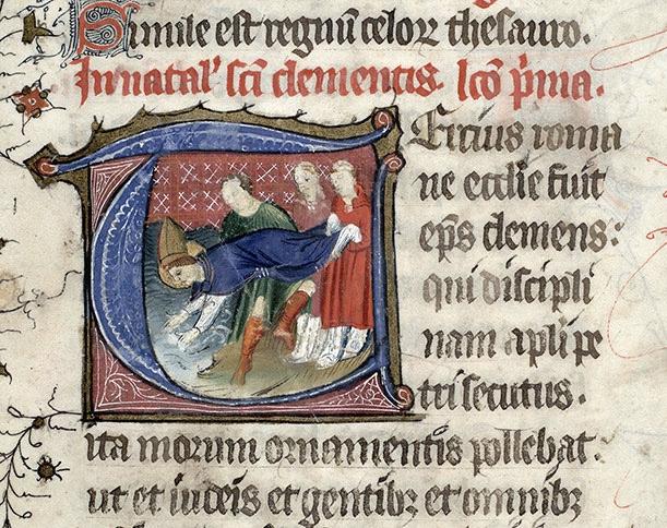 Le martyr de Saint Clément
