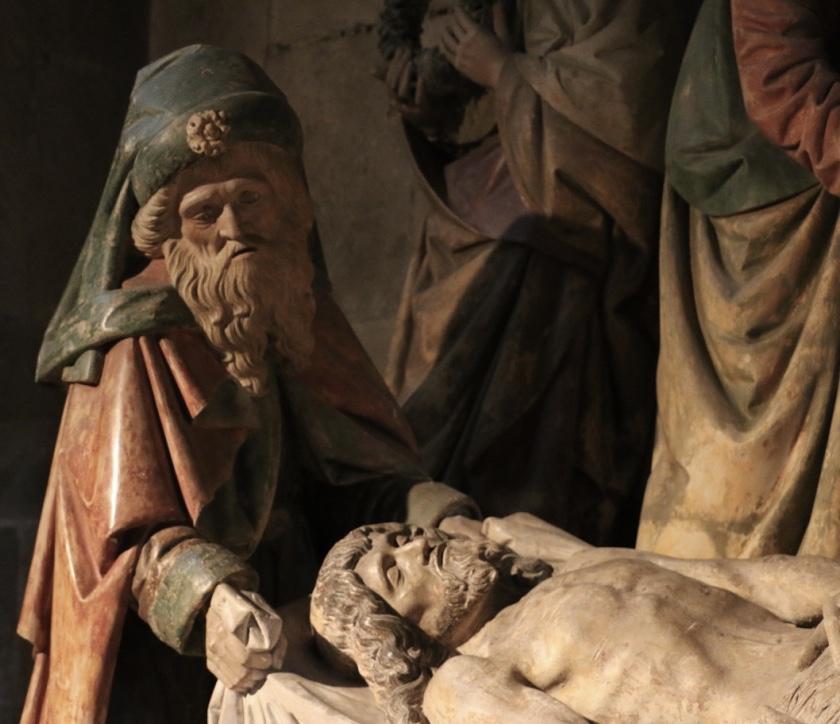 La mise au tombeau de Semur-en-Auxois