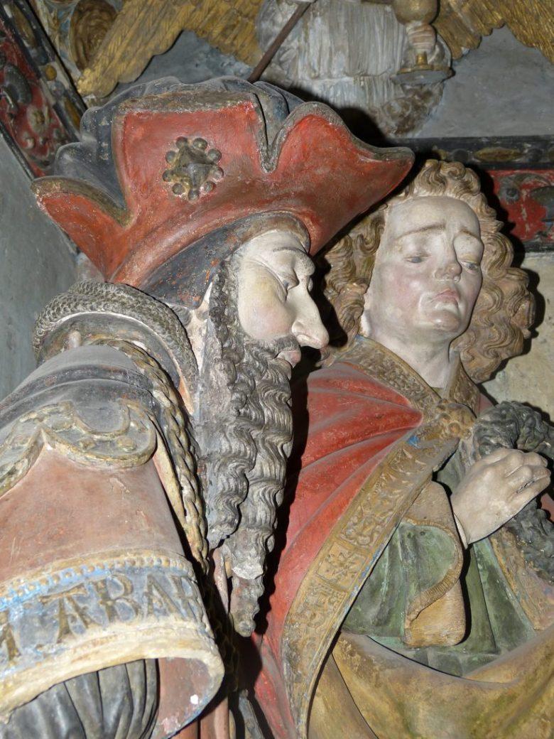 Mise au tombeau de Rodez. Saint Jean.