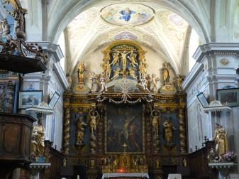 Doucy, église Saint-André consacrée, 1690.