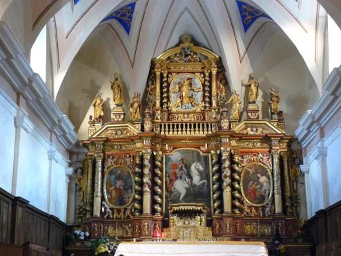 Saint-Martin de Belleville : retable majeur de l'église Saint-Martin par Jacques-Antoine Todesco et Guillaume Moulin (entre 1675 & 1700).