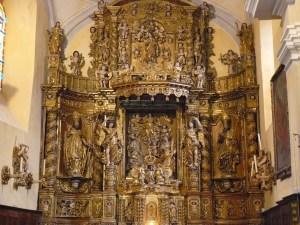 Retable majeur de Jacques Clairant à Champagny-en-Vanoise, église Saint-Sigismond.