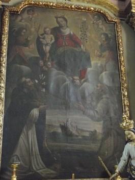 Le Bourget, Vierge à l'Enfant, saint Dominique et saint François - Amabert de Bramans, 1635