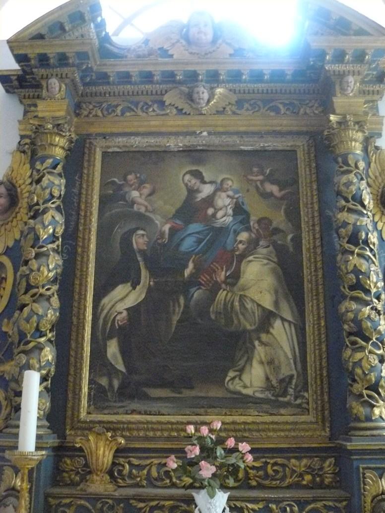 Saint-Sorlin d'Arves, autel des Carmes.