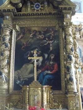 Villarodin, autel de saint Joseph, œuvre de Dufour.