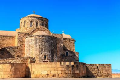 Monastère Saint-Barnabé, près de Famagouste, sur le lieu de la tombe du saint Apôtre.