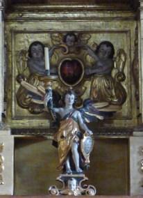 Termignon - église Notre-Dame de l'Assomption - ange