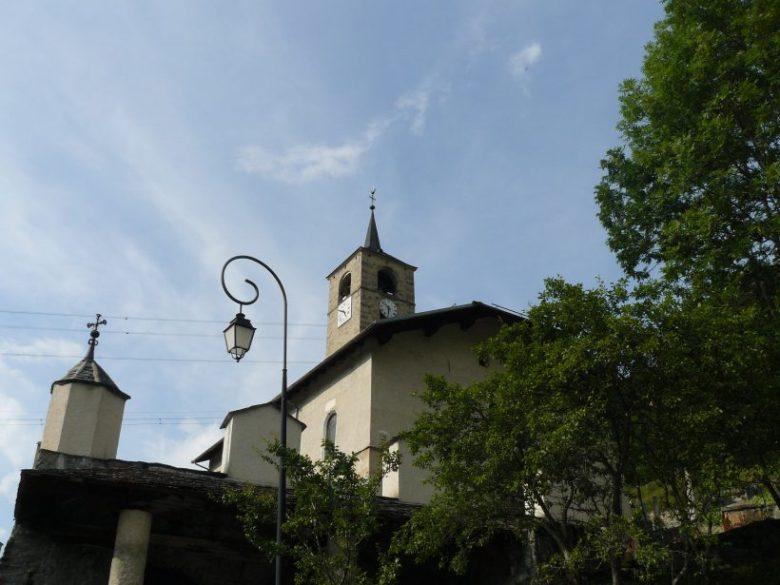 Peisey-Nancroix : église de la Trinité.