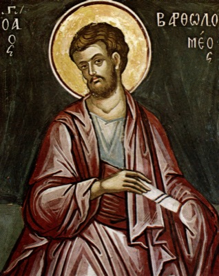 Saint Barthélémy, apôtre.
