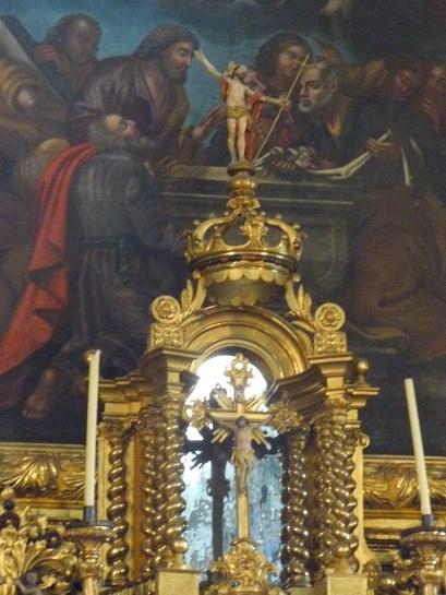 Termignon - église Notre-Dame de l'Assomption - le Christ triomphant