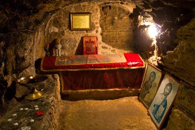 Tombe de saint Barnabé près de Salamine à Chypre.
