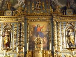 Notre-Dame de l'Assomption à Valloire : retable du maître-autel.