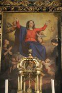 Notre-Dame de l'Assomption à Valloire : l'Assomption, tableau central du retable.
