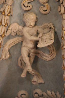 Notre-Dame de l'Assomption à Valloire : ange.