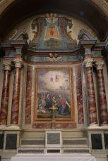 Notre-Dame de l'Assomption à Valloire : retable du Sacré Cœur.