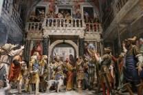 Sacro Monte de Varallo : Jésus devant Pilate.