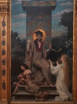 Sainte Cécile, par Guillaume Dubufe (1853-1909)