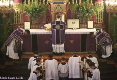 Dimanche des Rameaux - à la messe