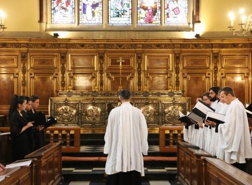 Vêpres en rit de Sarum à Balliol College