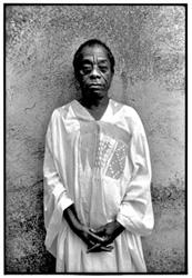 James Baldwin, St. Paul-de-Vence, France, 1986 photo: Nancy Crampton