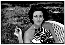 Anne Sexton, Weston, MA, 1973 photo: Nancy Crampton