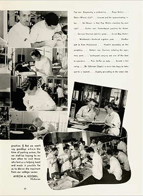 A page from the Atlanta-Southern Dental College 1941 Yearbook, The Asodecoan.