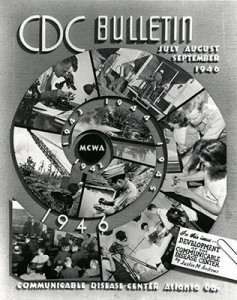 CDC Bulletin, July-September, 1946. Melvin H. Goodwin papers, Manuscript, Archives, and Rare Book Library, Emory University.