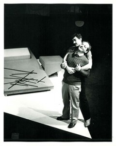 Performance stills from Rebecca Ranson's Warren, 1984-1985.