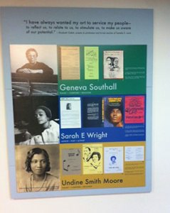 Revealing Her Story: Documenting African American Women Intellectuals 2014 Exhibition. 7th Floor, Robert W. Woodruff Library, Emory University.