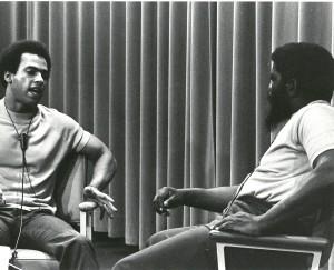 Huey Newton speaks with Herman Blake