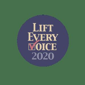 Circular Logo for Lift Every Voice 2020