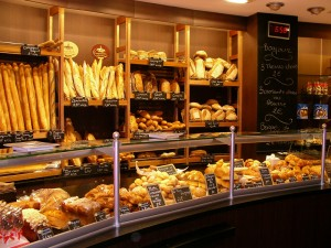 Figure 2: A local boulangerie near the Opera Bastille.