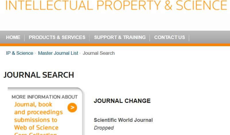 World Scientific Academic Journals
