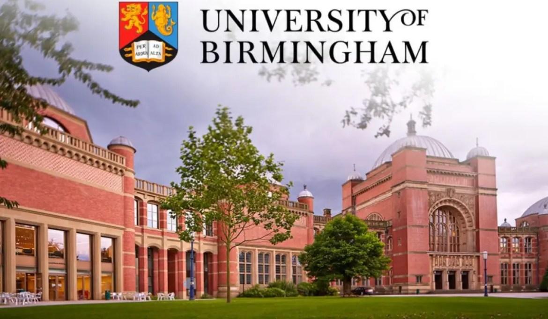 National programme (NSP) at University of Birmingham, UK - Scholarship  Positions 2021 2022