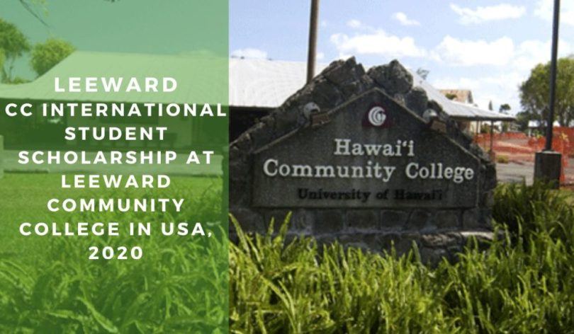 Image result for Leeward CC International Student Scholarship at Leeward Community College in the USA, 2020