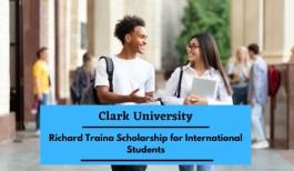 Clark University Richard Traina Scholarships for International Students in USA