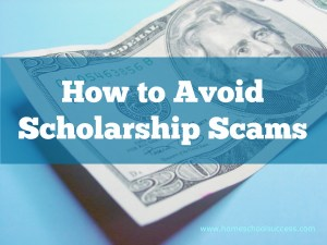 scholarship search scams
